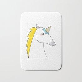 Undercover unicorn Bath Mat