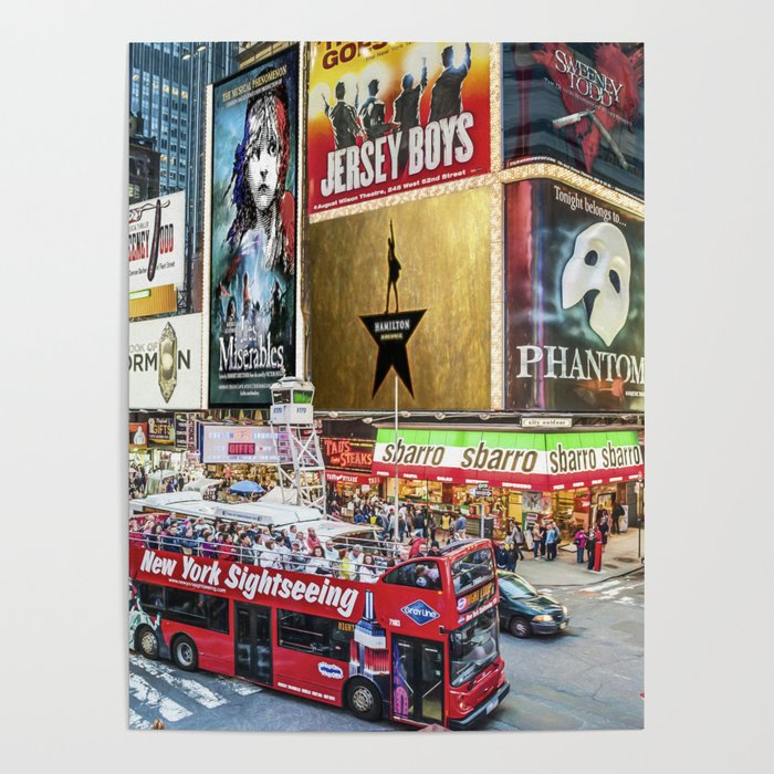 Times Square II Poster