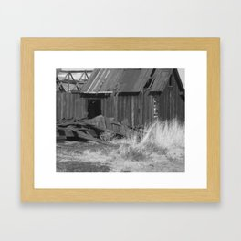 Abandoned Barn Framed Art Print