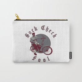 Sock Check Fool - White Carry-All Pouch