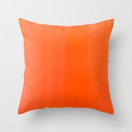 Orange/Coral Ombre Color #decor #society6 #buyart Throw Pillow