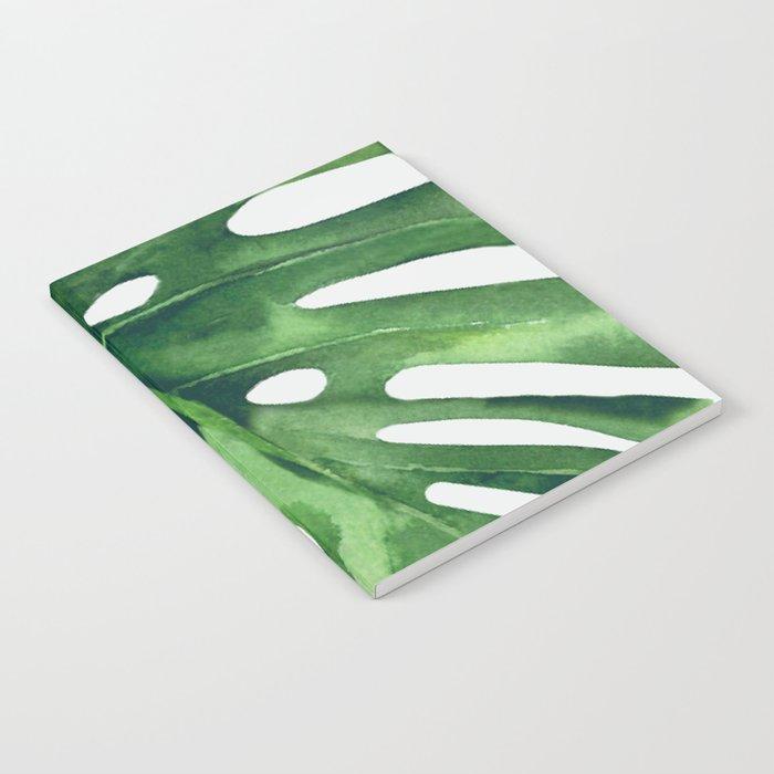 Monstera Leaf Notebook