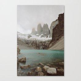 TORRES DEL PAINE II Canvas Print