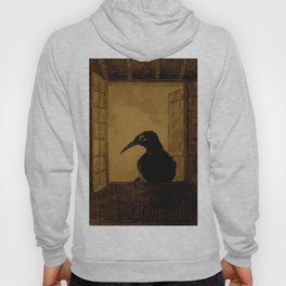 "Odilon Redon ""Le Corbeau (The Crow)"" Hoody"