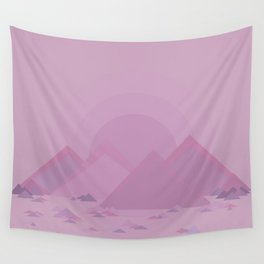 The lilac hills Wall Tapestry