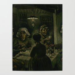 The Potato Eaters Poster