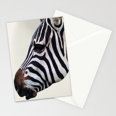Zebra Love Stationery Cards