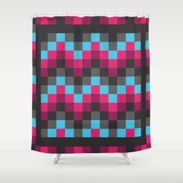 Tapestry in Frame Shower Curtain