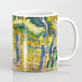 """Henri-Edmond Cross """"Clearing in Provence (study for """"The Clearing"""")"""" Coffee Mug"""