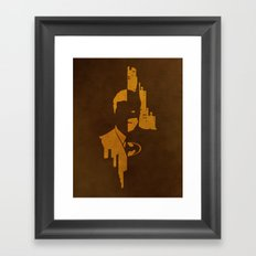 Power and Responsibilty Framed Art Print