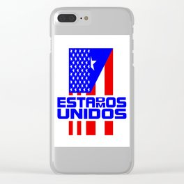 Estados Unidos/Estamos Unidos Clear iPhone Case
