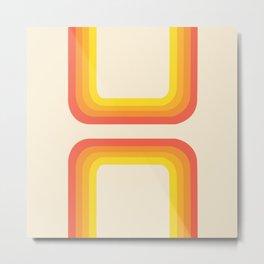 70' half rectangle Metal Print