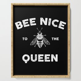 Gift for Beekeepers Beekeeper T-Shirt Save the Bee Serving Tray