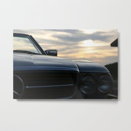 Oh Lord, wont'cha buy me a Mercedez Benz Metal Print