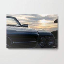 Oh Lord, wont'cha buy me a Mercedez Benz Metal Print