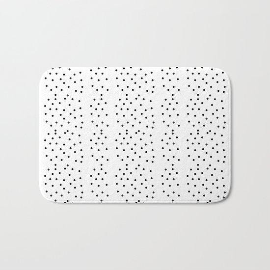 Random Polka ///www.pencilmeinstationery.com Bath Mat
