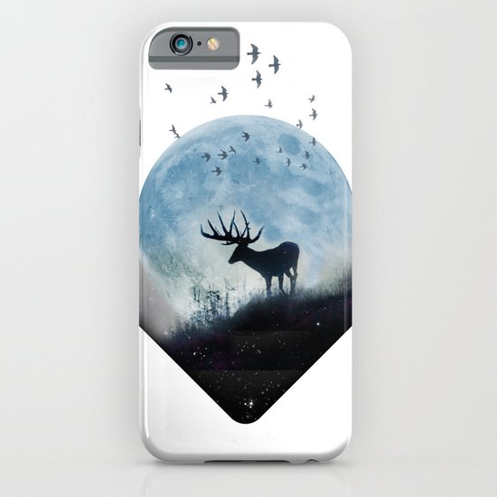 blue moon spill iPhone & iPod Case