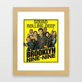 Brooklyn nine nine Framed Art Print