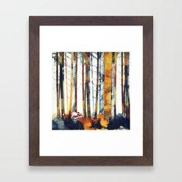 Autumn Hunt Framed Art Print