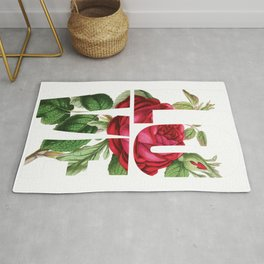 LOVE Romantic Ladies Design Rug