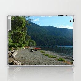 Lake Cresent Shore Laptop & iPad Skin