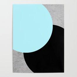 Concrete Circles Poster