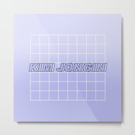 KIM JONGIN 2 Metal Print