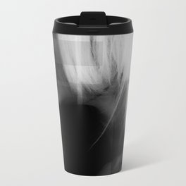She smokes hard Metal Travel Mug