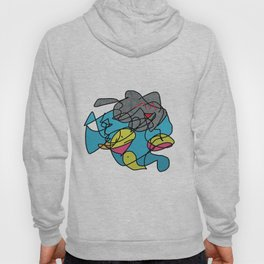 Attack on the Fish Ninja Nation Hoody