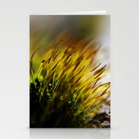 moss Stationery Cards featuring Moss by Digital Dreams