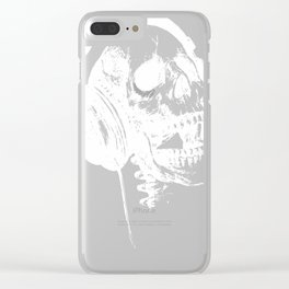Music forever Clear iPhone Case