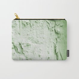 Damaged wall pic in background with green color, ready for clothes,furnitures, iphone cases Carry-All Pouch