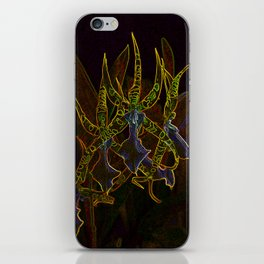 Star Orchids iPhone Skin