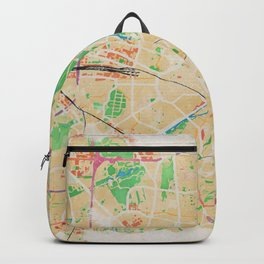 Munich in Watercolor Backpack