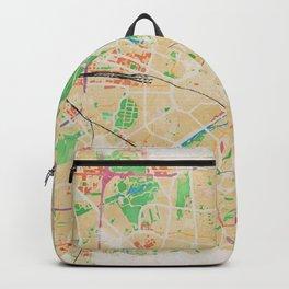 Munich in Watercolor Backpack