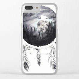 Misty Dreams Clear iPhone Case
