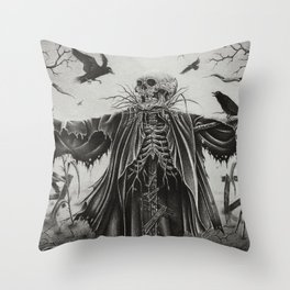 Senescence Throw Pillow