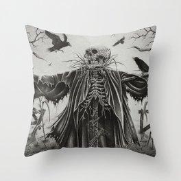 Senescence Throw Pillow