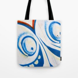 Grafitti Face Tote Bag