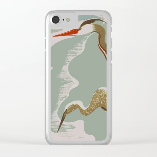 Visit the Zoo - African Birds Clear iPhone Case