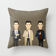 Watching The Detectives #3: Landscape Throw Pillow