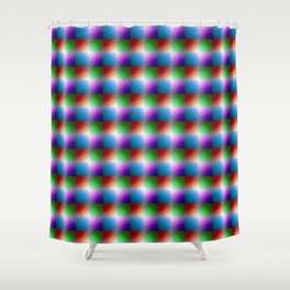Trimetrica - Jewel Tone Shower Curtain
