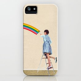 Coat of Many Colors iPhone Case
