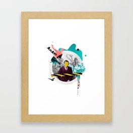 Mental Note #3 Framed Art Print