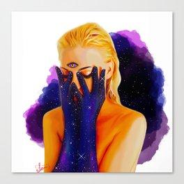 Divine Feminine 1 ( We Are The Cosmos ) Canvas Print
