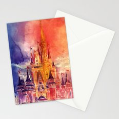 Cinderella Castle Stationery Cards