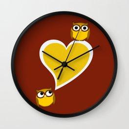 Hoo? Me? Wall Clock