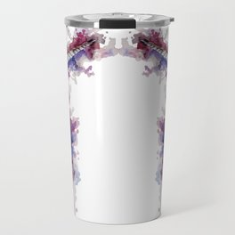 Unicorn skulls Travel Mug