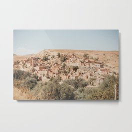 Countryside of Marrakech  Metal Print