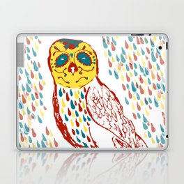 Sugar Skull Owl Laptop & iPad Skin